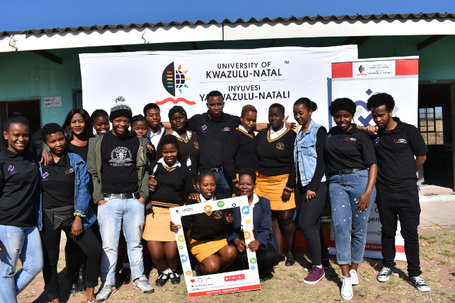 Supply Chain Student Association in Community Outreach on Mandela Day